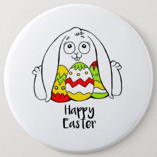 Happy Easter 6 Cm Round Badge