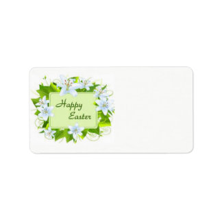 Happy Easter Address Label