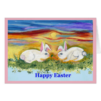 Happy Easter Blank Note Greeting Card