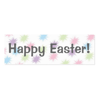 Happy Easter!   Bookmark Business Card Templates