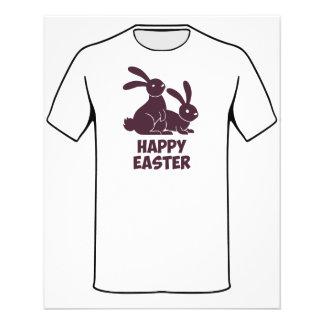 Happy Easter Bunnies 11.5 Cm X 14 Cm Flyer