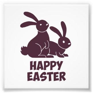 Happy Easter Bunnies Photo