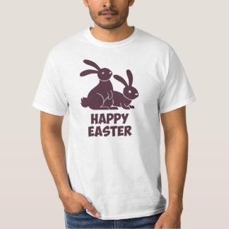 Happy Easter Bunnies Tee Shirt
