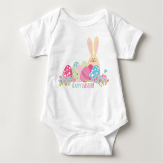 Happy Easter Bunny Baby Bodysuit