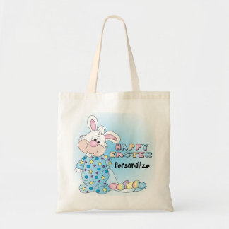 Happy Easter Bunny Budget Tote Bag