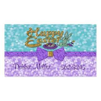 Happy Easter Bunny Business Cards