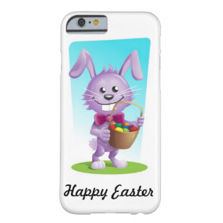 Happy Easter Bunny Design Barely There iPhone 6 Case
