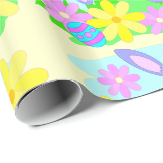 Happy Easter Bunny Gift Wrap
