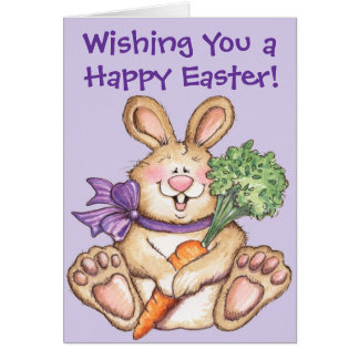 Happy Easter Bunny - Greeting Card