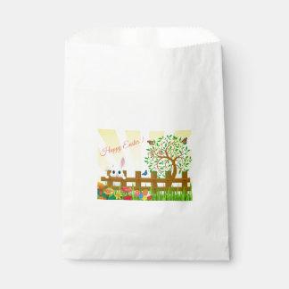 Happy Easter bunny illustration Favour Bag