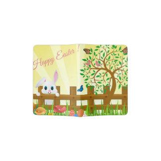 Happy Easter bunny illustration Passport Holder