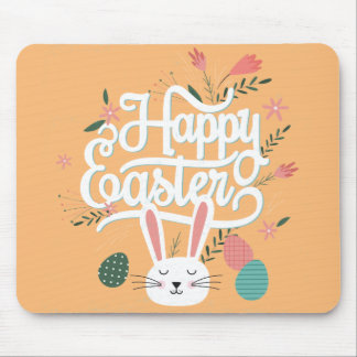 Happy Easter Bunny Mouse Pad