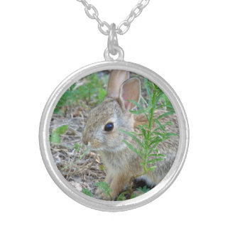 Happy Easter Bunny Necklace