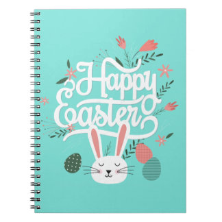 Happy Easter Bunny Note Book