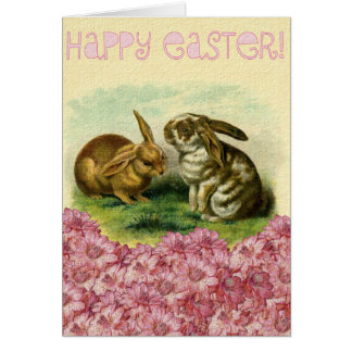 Happy Easter Bunny Note Card