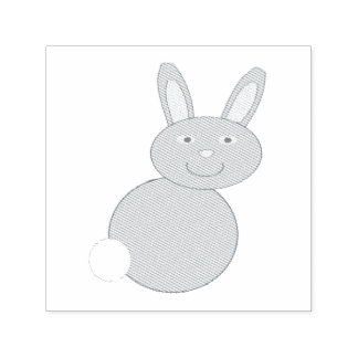 Happy Easter Bunny Self Inking Stamp