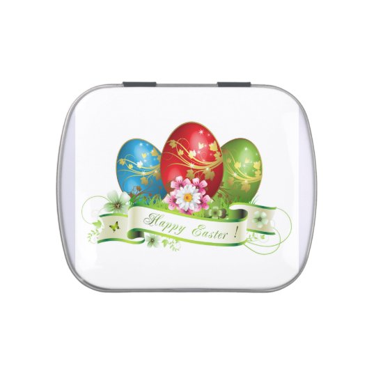 Happy Easter Candy Tin