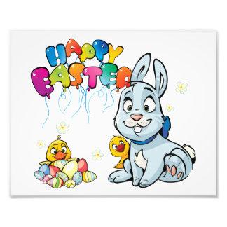 Happy Easter Cartoon Photograph