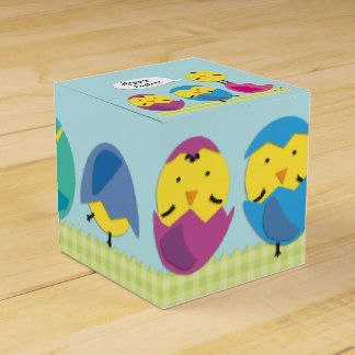 Happy Easter Chicks Favour Box