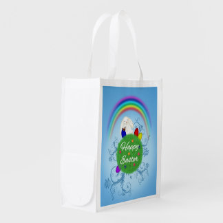 Happy Easter Colorful Planet - Reusable Bag