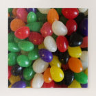 Happy Easter Colourful Rainbow Jelly Beans Jigsaw Puzzle