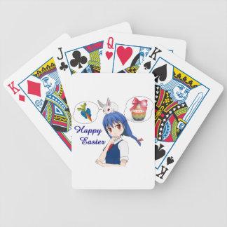 Happy Easter (Costumizable) Bicycle Playing Cards