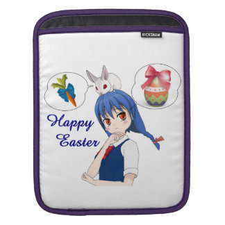 Happy Easter (Customizable) iPad Sleeve