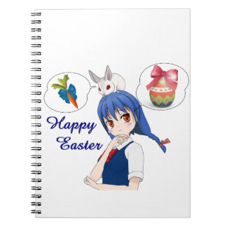 Happy Easter (Customizable) Notebook