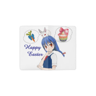 Happy Easter (Customizable) Pocket Moleskine Notebook
