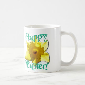 Happy Easter, Daffodil 01.2.2T Coffee Mug