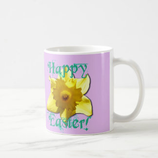 Happy Easter, Daffodil 01.2.7.T Coffee Mug