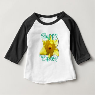 Happy Easter, Daffodil 01.2.T Baby T-Shirt