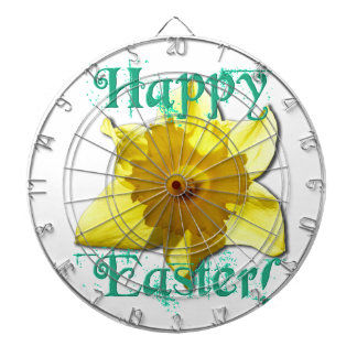 Happy Easter, Daffodil 01.2.T Dartboard
