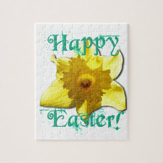 Happy Easter, Daffodil 01.2.T Jigsaw Puzzle