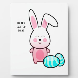Happy Easter Day Plaque