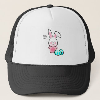 Happy Easter Day Trucker Hat