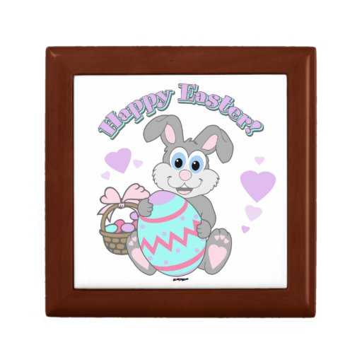 Happy Easter! Easter Bunny Jewelry Boxes