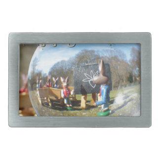Happy Easter! Easter Bunny school 02.0.T Belt Buckle