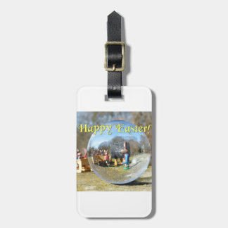 Happy Easter! Easter Bunny school 02.0.T Luggage Tag