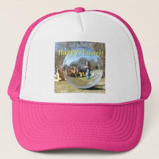 Happy Easter! Easter Bunny school 02.0.T Trucker Hat