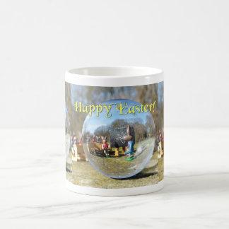 Happy Easter! Easter Bunny school 02.3.3T Coffee Mug