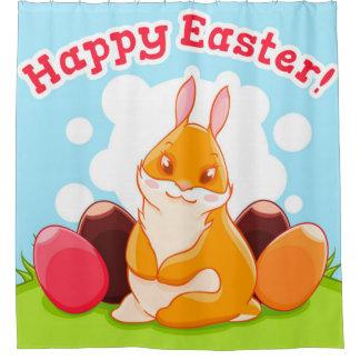 Happy Easter Egg Hunt Shower Curtain