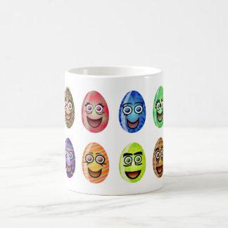Happy Easter Eggs Coffee Mug