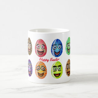 Happy Easter Eggs Coffee Mug