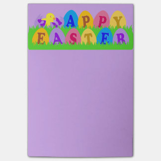 Happy Easter Eggs Post-it Notes