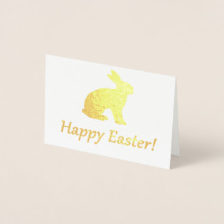 Happy Easter Foil Card