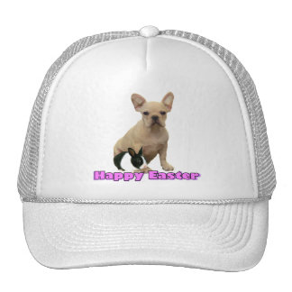 Happy Easter French bulldog hat