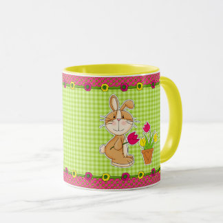 Happy Easter. Funny Easter Bunny Gift Mugs