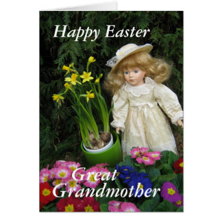 Happy Easter great Grandmother Card