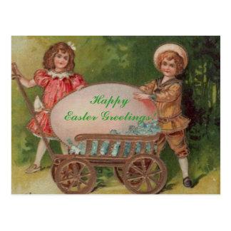 Happy Easter Greetings! Postcard